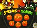 Spartans vs goblins